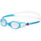 speedo Futura Biofuse Flexiseal - Lunettes de natation Enfant - transparent/turquoise